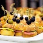 mini hamburguesa para niños